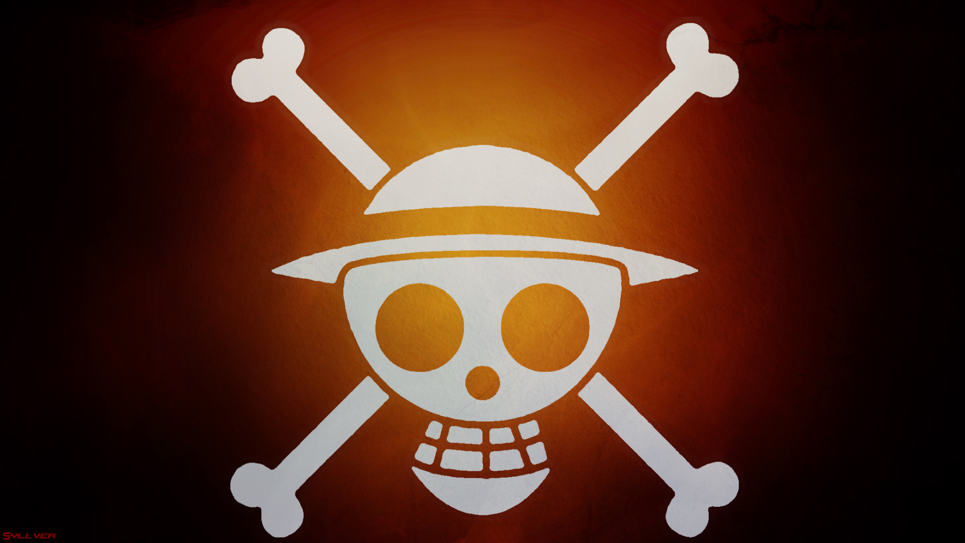 Luffy Jolly Roger Hd Wallpaper Background Image