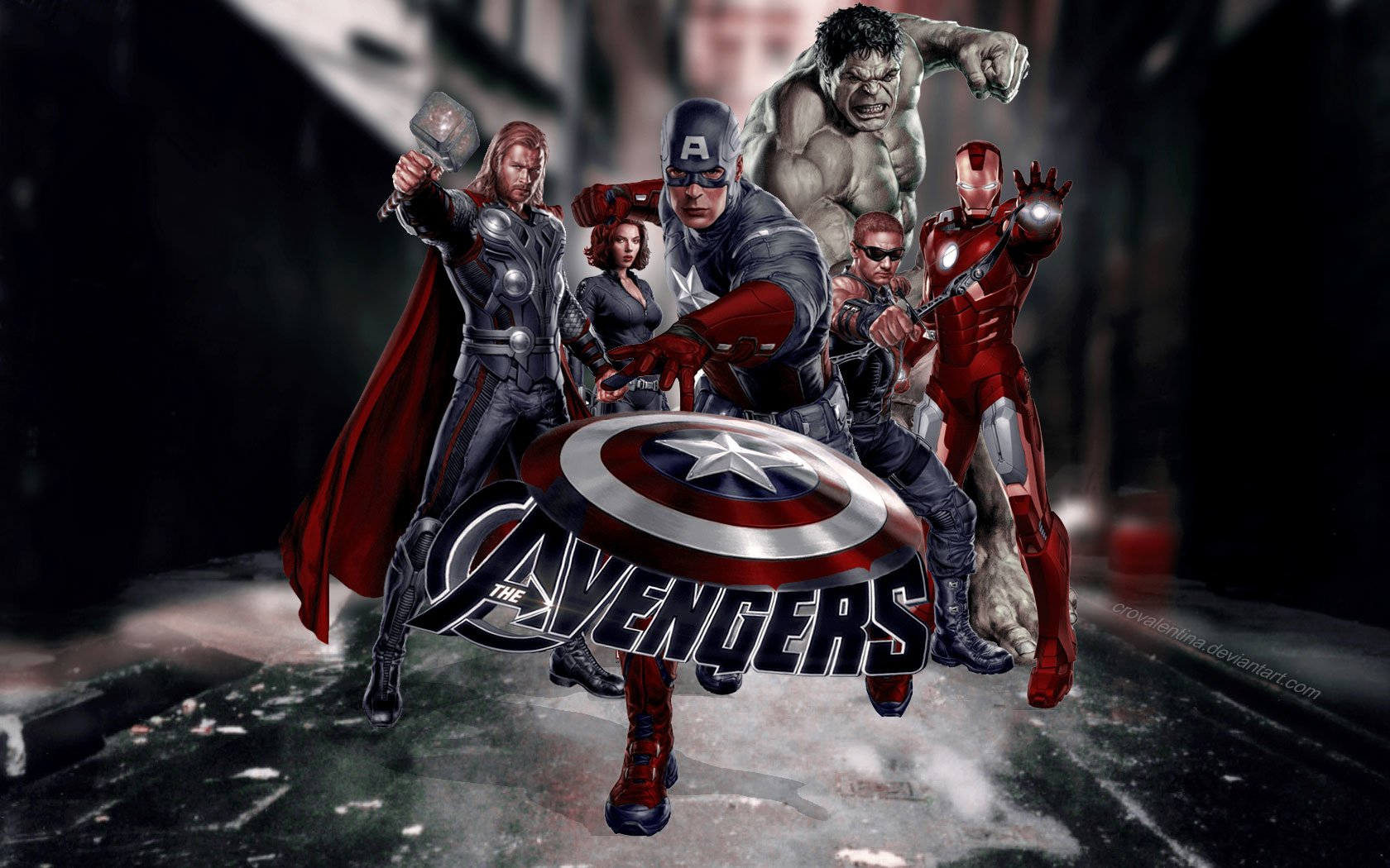 Avengers wallpaper and background image 1680x1050 id - Avengers hd wallpapers free download ...