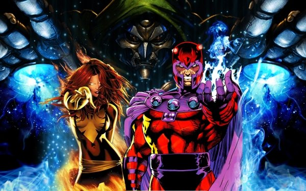 Comics X-Men Doctor Muerte Magneto Phoenix Jean Grey Fondo de pantalla HD | Fondo de Escritorio