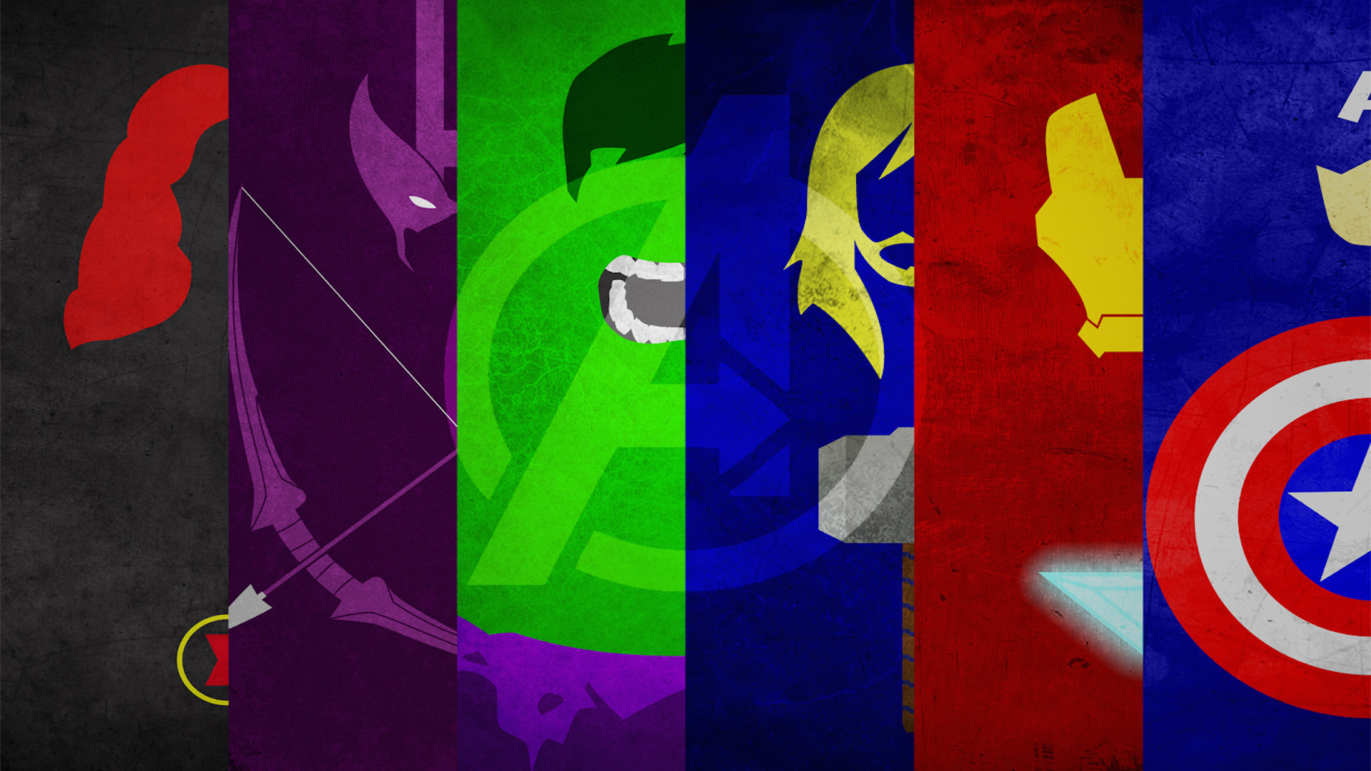 Avengers full hd wallpaper and background 1920x1080 id for Minimal art hero