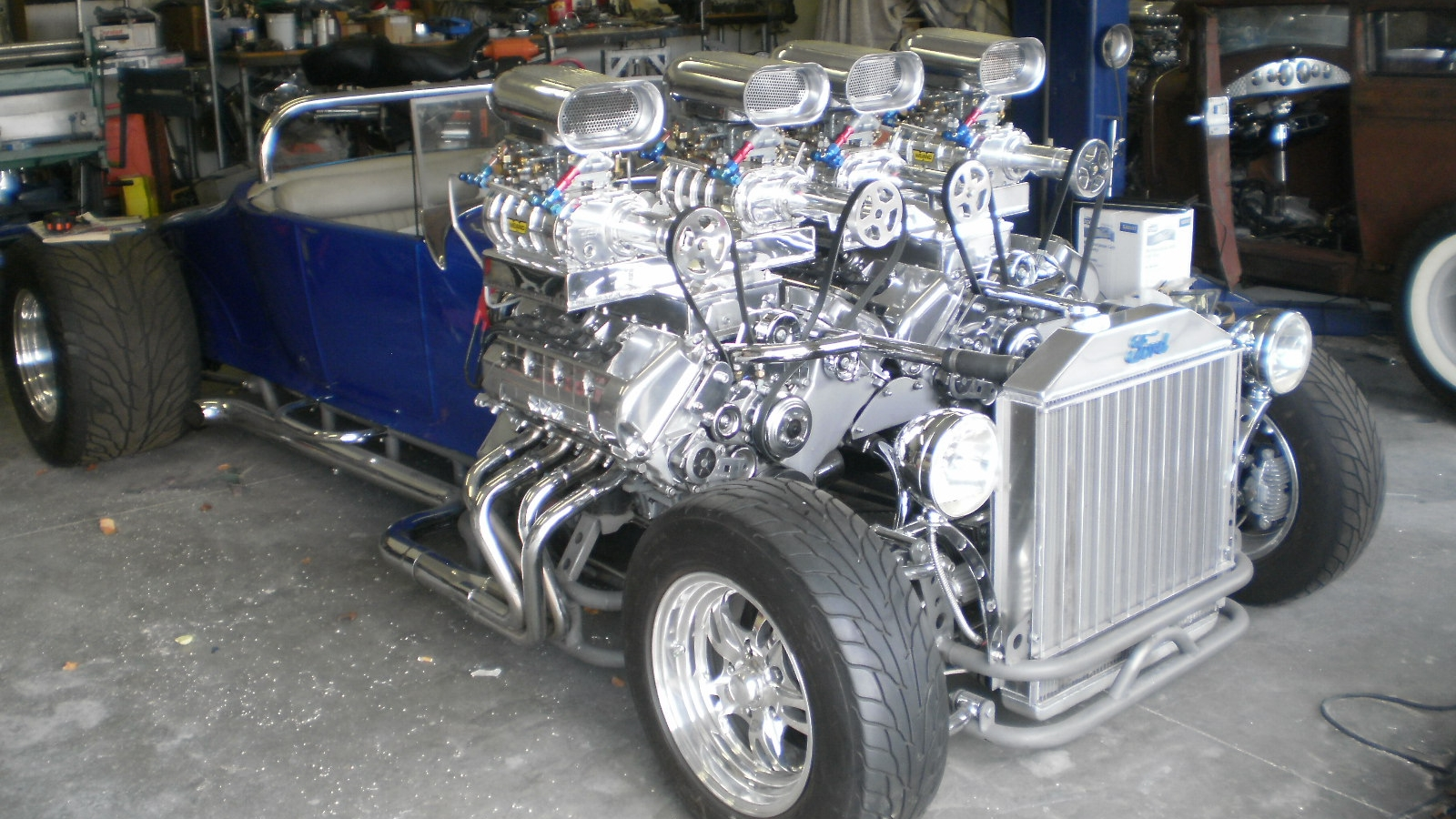 Crazy Classic Car Engines