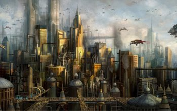Sci Fi - City Wallpapers and Backgrounds ID : 506872