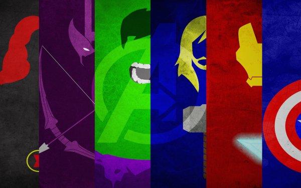Comics Los Vengadores Viuda negra Hulk Thor Iron Man Capitan América Fondo de pantalla HD | Fondo de Escritorio