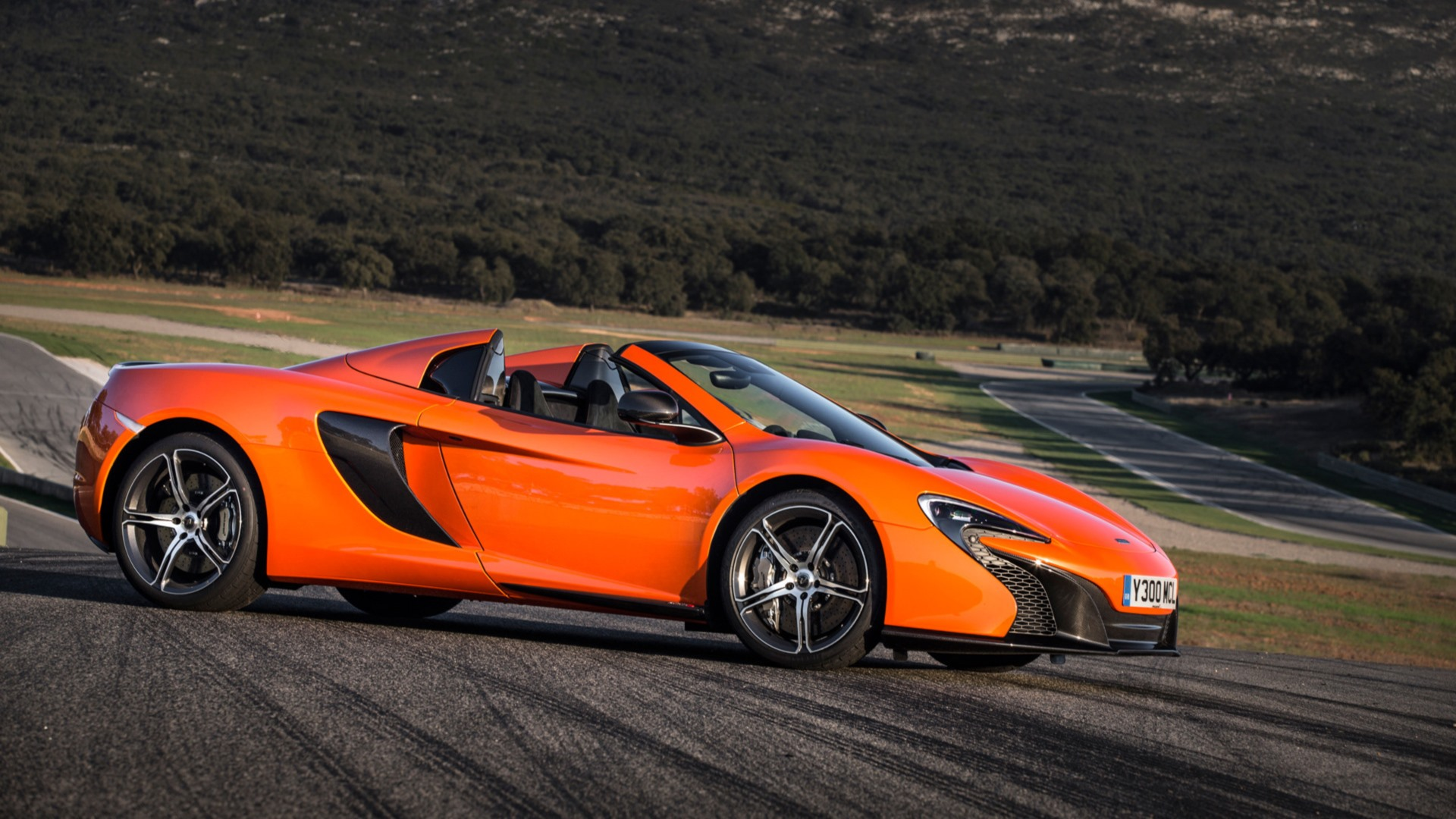 McLaren 650S Spider Orange Car Supercar Car Vehicle McLaren McLaren ...
