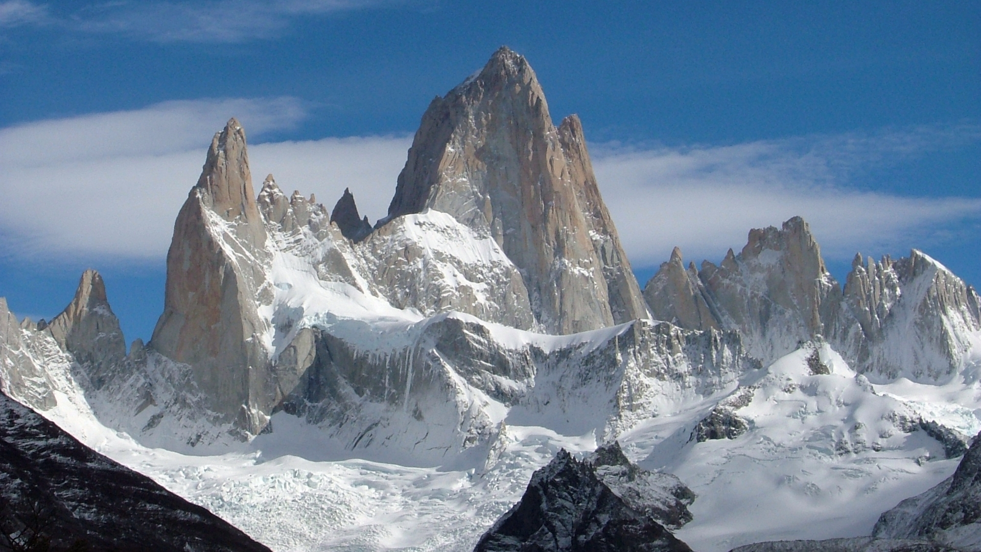 Mount Fitzroy Full Hd Wallpaper And Background Image