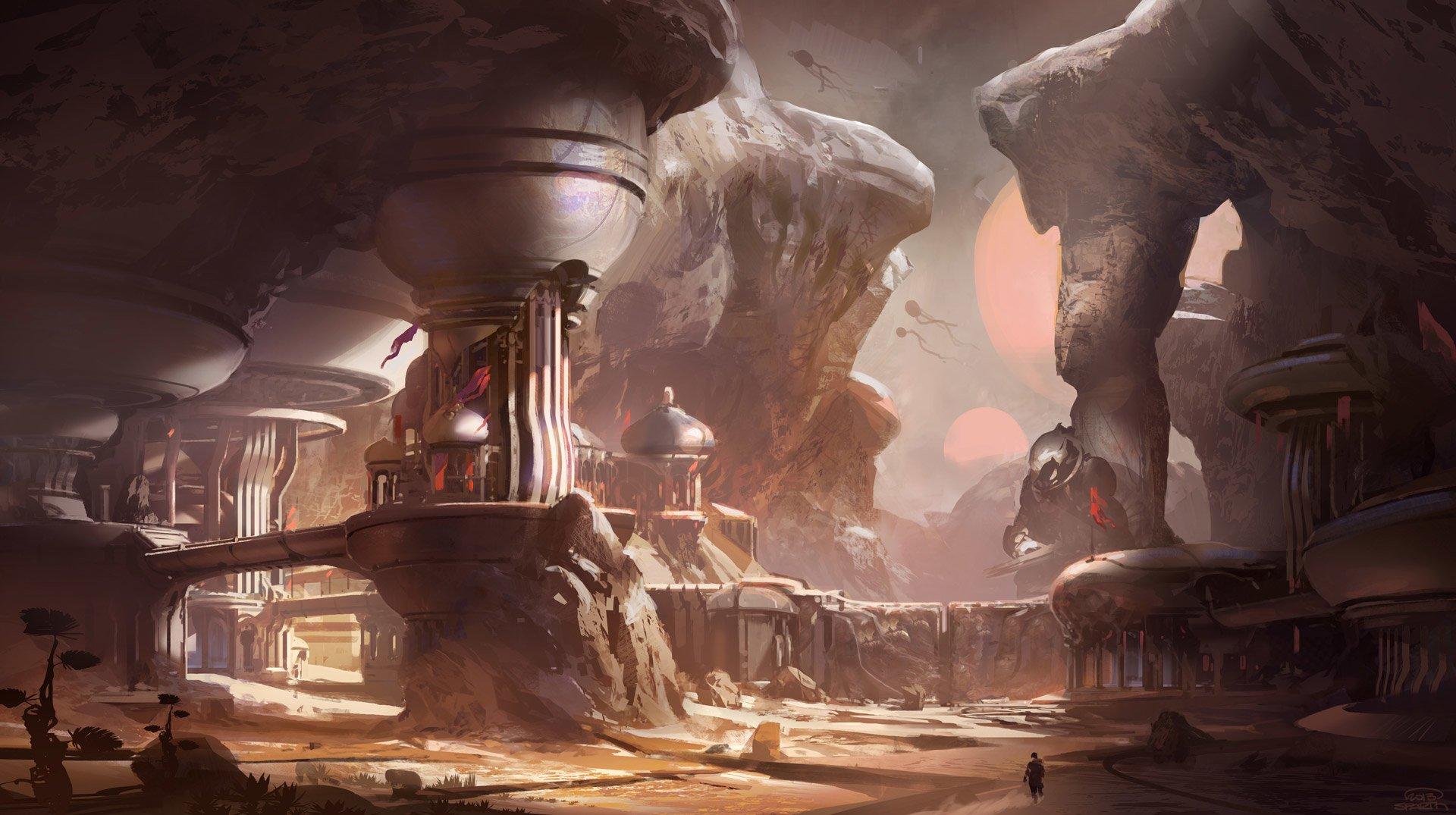 电子游戏 - 光晕5:守护者  Halo 5 光晕 Master Chief 壁纸