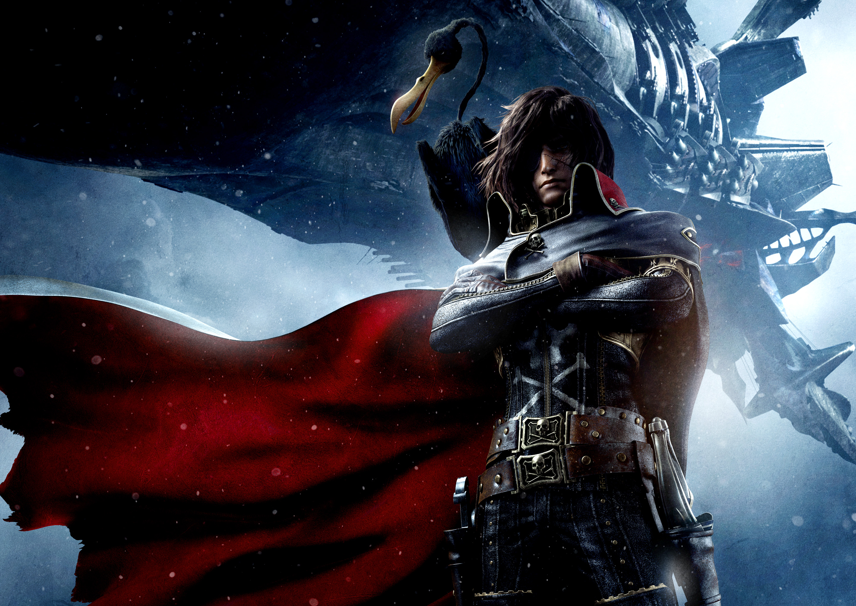 8 Space Pirate Captain Harlock Hd Wallpapers Background