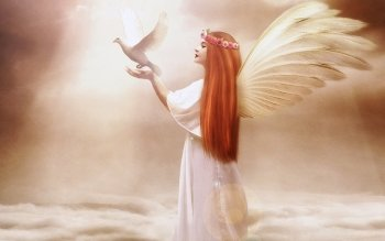 Fantasy - Angel Wallpapers and Backgrounds ID : 510361