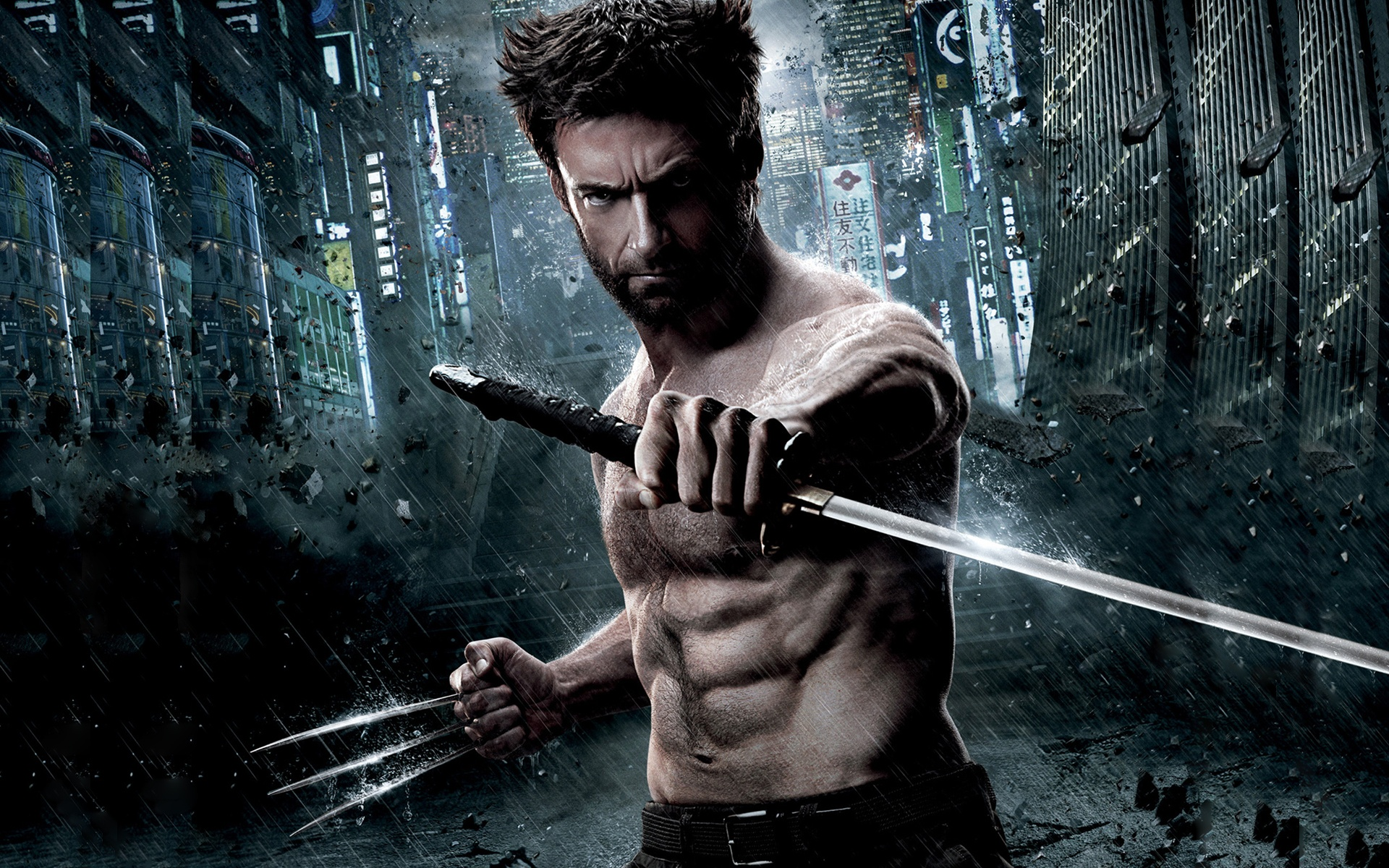 The wolverine full hd wallpaper and background image 1920x1200 movie the wolverine wallpaper voltagebd Images