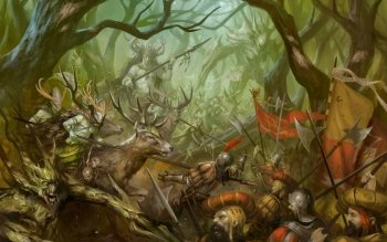 Fantasy - Battle Wallpapers and Backgrounds ID : 511012
