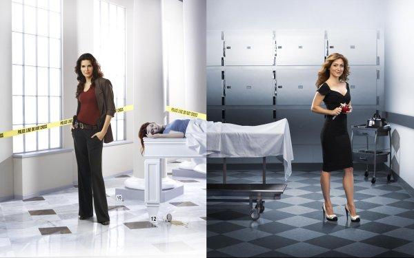 TV Show Rizzoli & Isles Sasha Alexander Dr. Maura Isles Angie Harmon Jane Rizzoli HD Wallpaper   Background Image