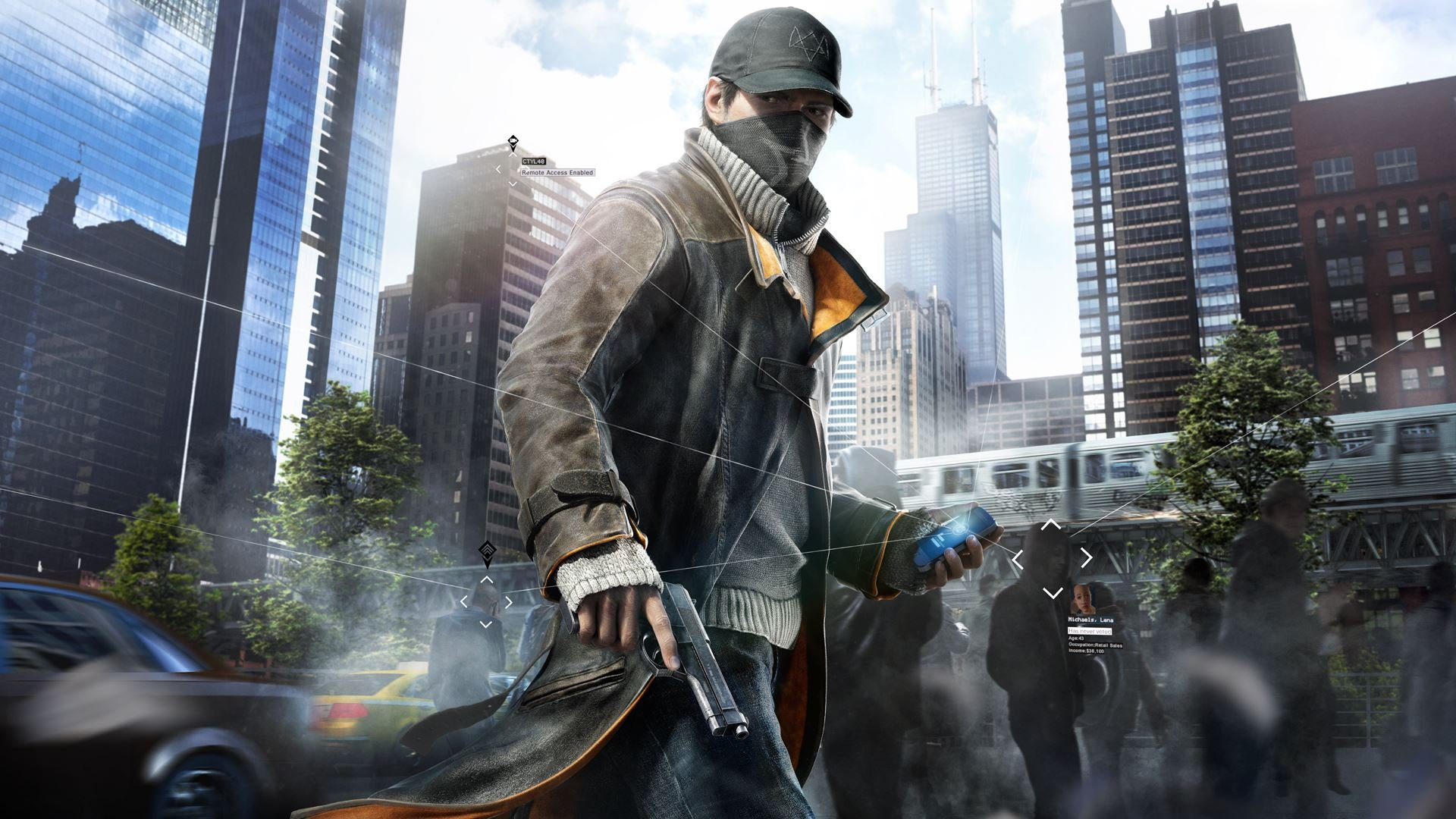 Aiden Pearce Hd Wallpaper Background Image 1920x1080 Id