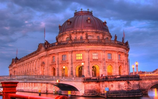 Man Made Bode Museum Buildings Museum Building Architecture Germany HD Wallpaper | Background Image