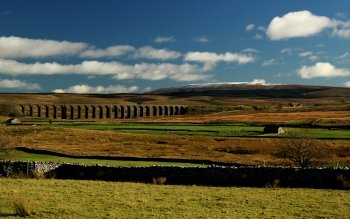 Man Made - Ribblehead Viaduct Wallpapers and Backgrounds ID : 513222