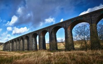 Man Made - Ribblehead Viaduct Wallpapers and Backgrounds ID : 513244