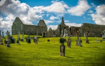 Religious - Clonmacnoise Monastery Wallpapers and Backgrounds ID : 513852