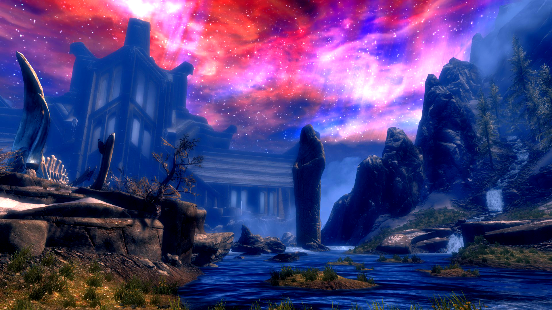 Sovngarde full hd wallpaper and background image for Wallpaper photo