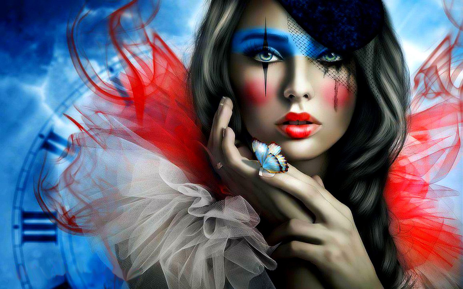 Sad Clown Full HD Wallpaper and Background Image ...