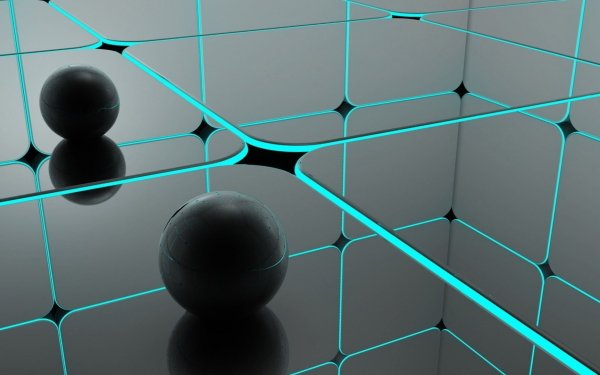 Abstract Ball HD Wallpaper | Background Image