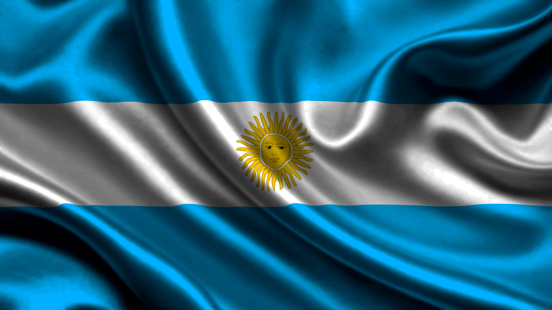 Flag Of Argentina Hd Wallpaper Background Image 1920x1080 Id