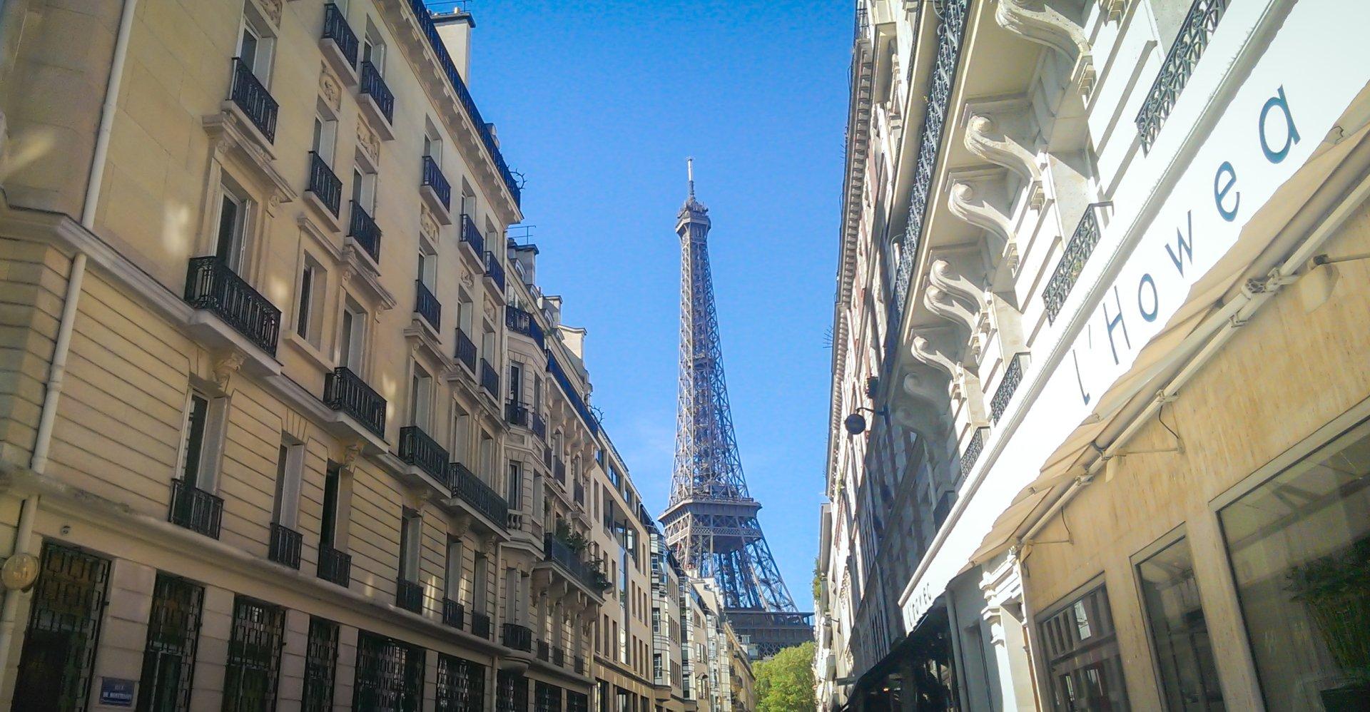Man Made - Paris  Eiffel Tower France City Street Wallpaper