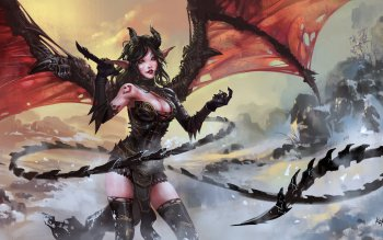 Fantasy - Demon Wallpapers and Backgrounds ID : 516648