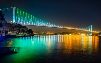 Man Made - Bosphorus Bridge Wallpapers and Backgrounds ID : 516892