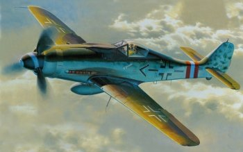 Military - Focke-Wulf Fw 190 Wallpapers and Backgrounds ID : 518395