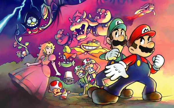 Video Game Mario & Luigi: Superstar Saga Mario HD Wallpaper | Background Image