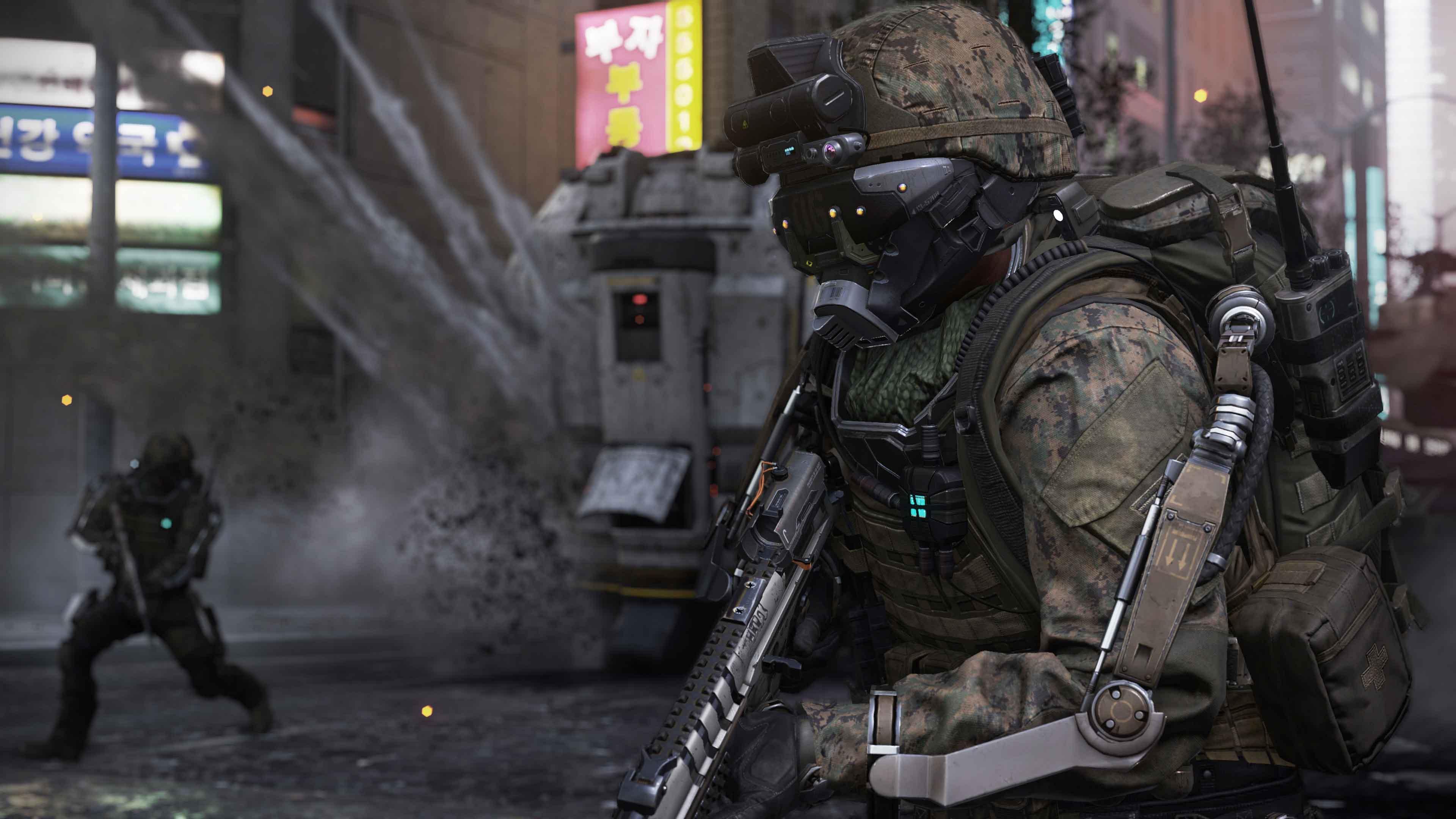 Call of Duty: Advanced Warfare 4k Ultra HD Papel de Parede ...