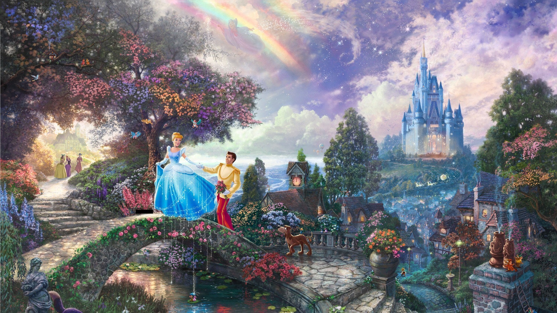 Cinderella full hd wallpaper and background image 1920x1080 id movie cinderella 1950 cinderella wallpaper altavistaventures Images