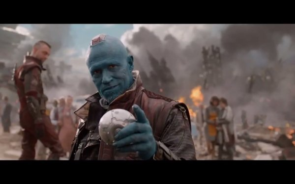 Movie Guardians of the Galaxy Michael Rooker Yondu Udonta HD Wallpaper | Background Image