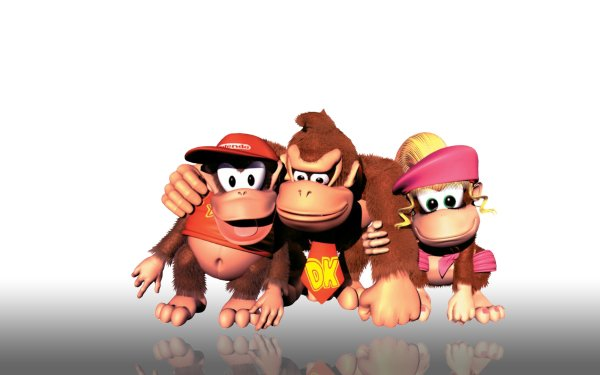 Video Game Donkey Kong Country 2: Diddy's Kong Quest Donkey Kong HD Wallpaper | Background Image