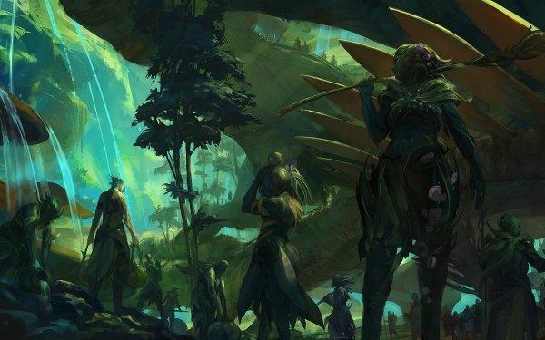 Jeux Vidéo Guild Wars 2 Guild Wars Concept Art Sylvari Fond d'écran HD   Image