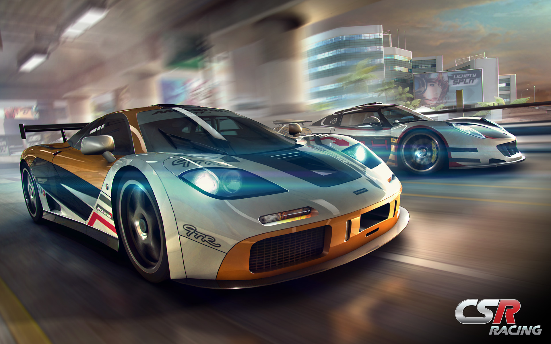 Racing Car Games Hd Wallpaper: CSR Racing Full HD Wallpaper And Background