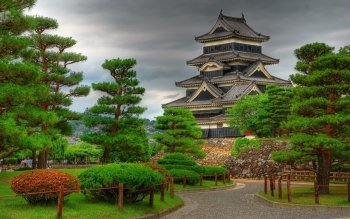 Man Made - Matsumoto Castle Wallpapers and Backgrounds ID : 522035