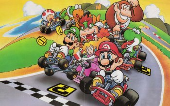 Video Game - Super Mario Kart Wallpapers and Backgrounds ID : 522575
