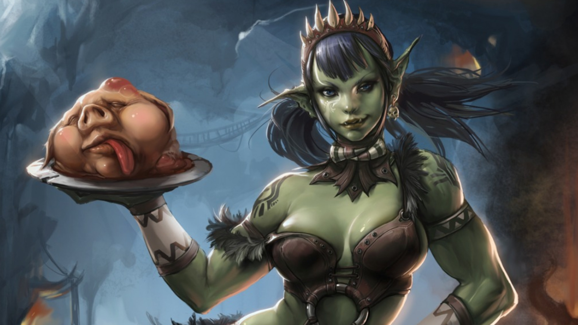 Hentai elf and orc xxx nudes pic