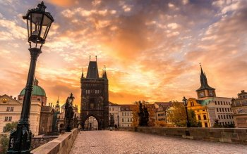 Man Made - Charles Bridge Wallpapers and Backgrounds ID : 523398