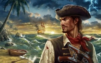 Fantasy - Pirate Wallpapers and Backgrounds ID : 523717