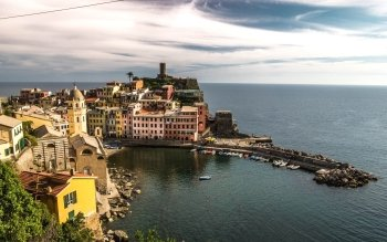 Man Made - Vernazza Wallpapers and Backgrounds ID : 525317
