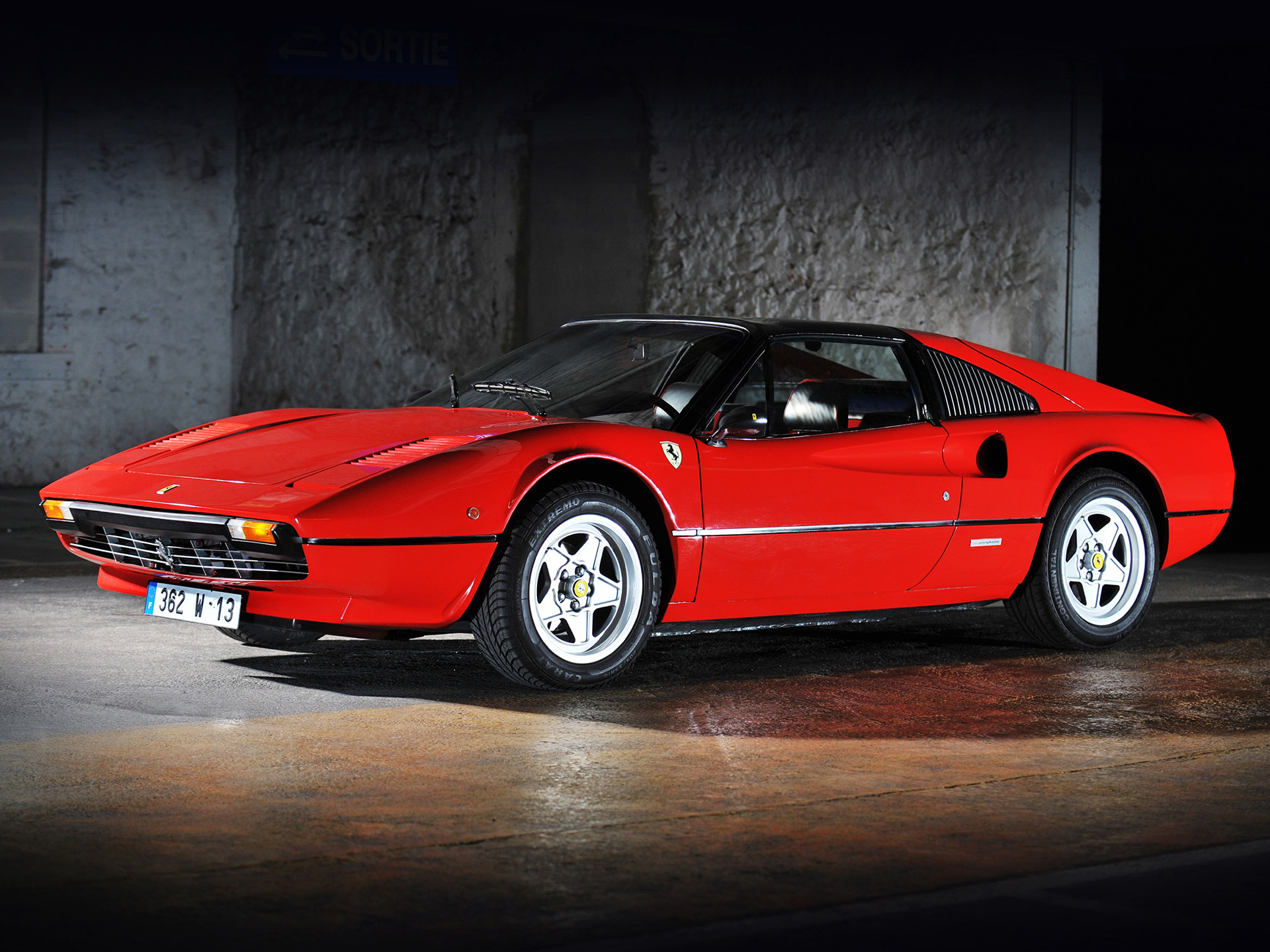 8 Ferrari 308 GTS HD Wallpapers Backgrounds Wallpaper