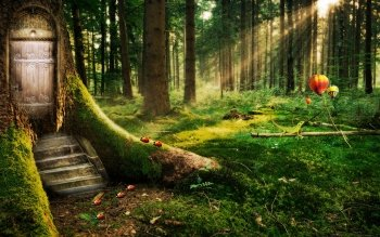 Fantasy - Forest Wallpapers and Backgrounds ID : 526452