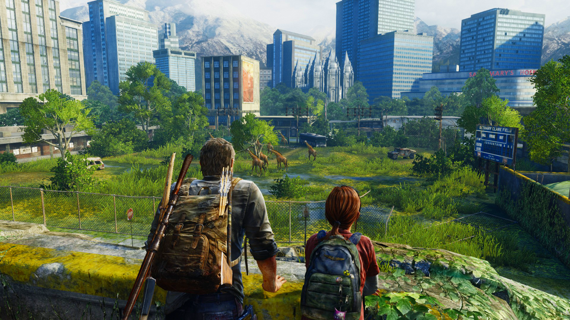 The Last Of Us Full HD Wallpaper And Hintergrund