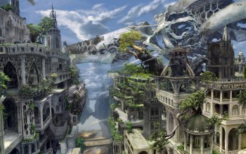 Fantasy - City Wallpapers and Backgrounds ID : 527923