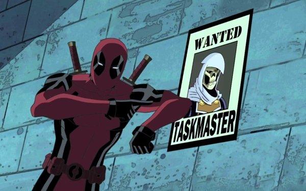 TV Show Ultimate Spider-Man Spider-Man Deadpool Taskmaster HD Wallpaper | Background Image