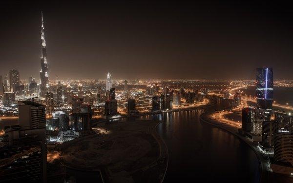 Man Made Dubai Cities United Arab Emirates HD Wallpaper | Background Image