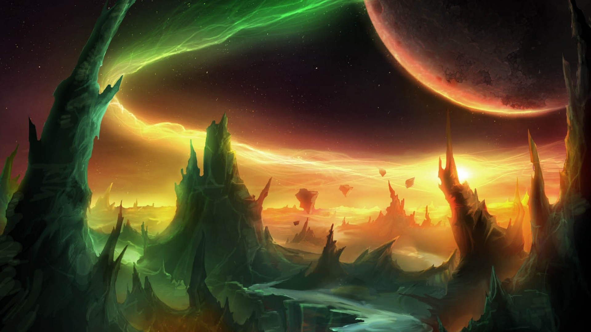 World Of Warcraft Warlords Of Draenor Fondo De Pantalla Hd