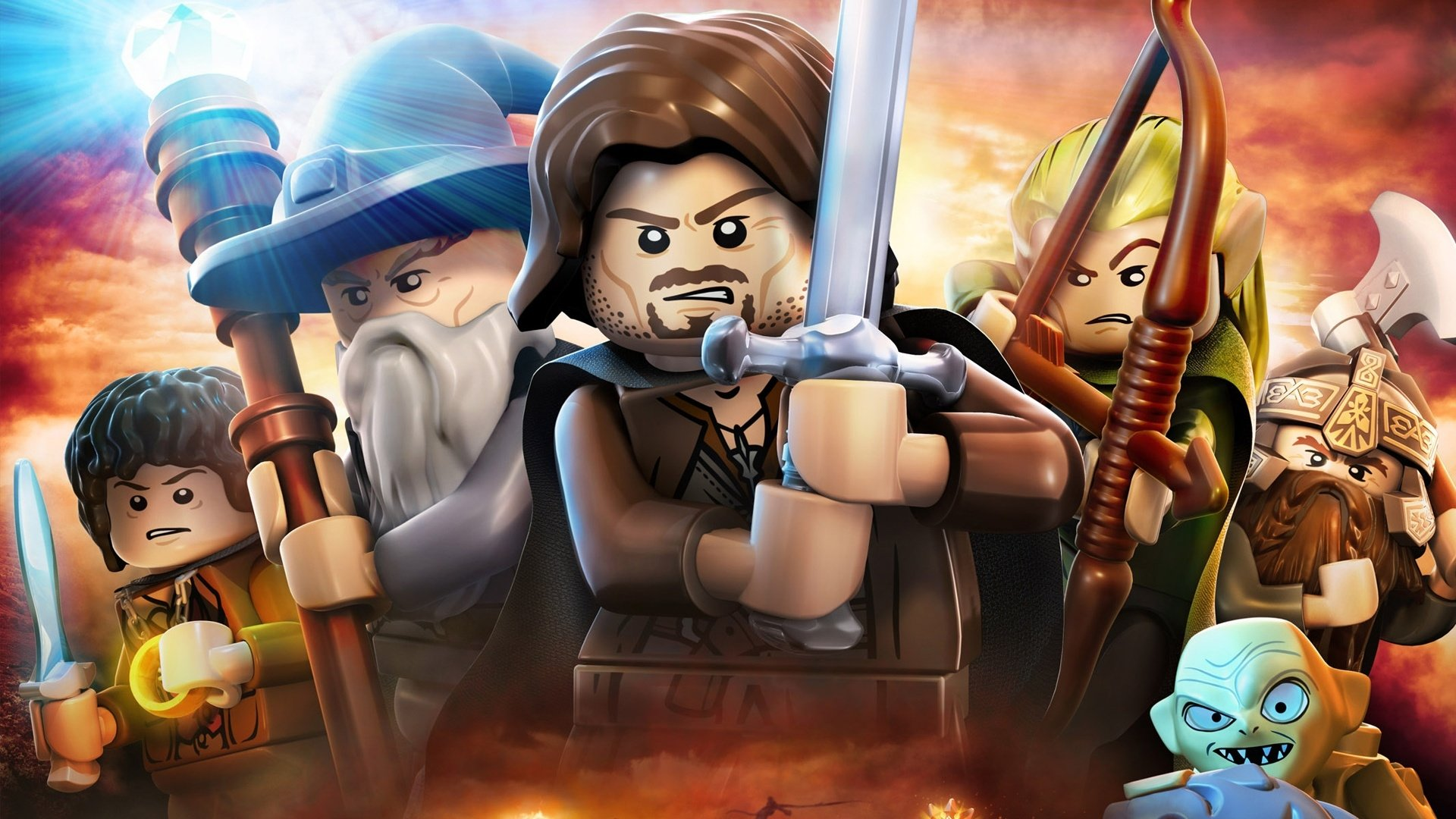 LEGO The Lord of the Rings Fondo de pantalla HD | Fondo de ...