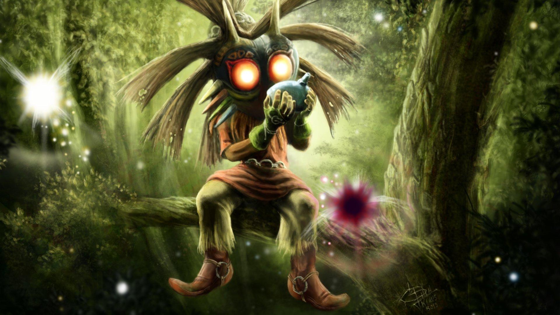 79 The Legend Of Zelda Majora S Mask Hd Wallpapers Background